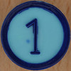 Colour Bingo blue number 1