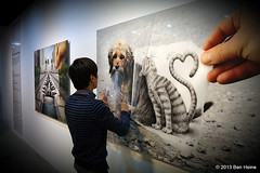 Ben Heine Solo Exhibition at Hyehwa Art Center in Seoul, South Korea photo by Ben Heine