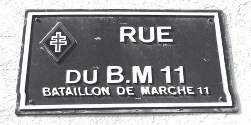 Franche Comté - Rue du B.M XI à Dolleren - Revue Patrimoine Doller