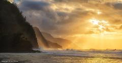 Winter Storms on Ke'e Beach - Kauai, HI (Explored) photo by Ian P. Miller Photography