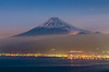 Mt Fuji and Seaside Lights