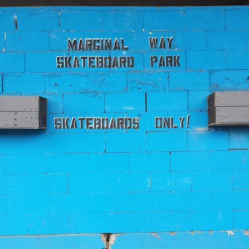 The #MarginalWaySkateboardPark sure has improved since I was here last.