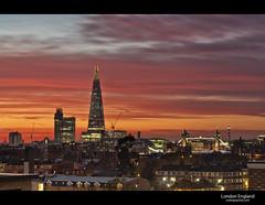 London Sunset photo by esslingerphoto.com✈ (back in London)
