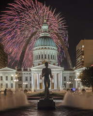 St. Louis 4th of July Fireworks photo by BillikenHawkeye