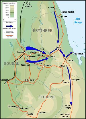 1941 - Erythrée