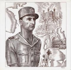 Philatélie - Lyon 1944 - Général Brosset - source : Jean Pflieger
