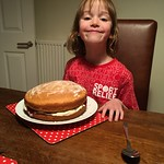 Amy made Victoria sponge for pudding<br/>20 Nov 2016