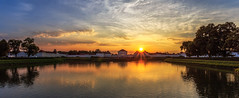 Sunset over Schloss Nymphenburg photo by One_Penny