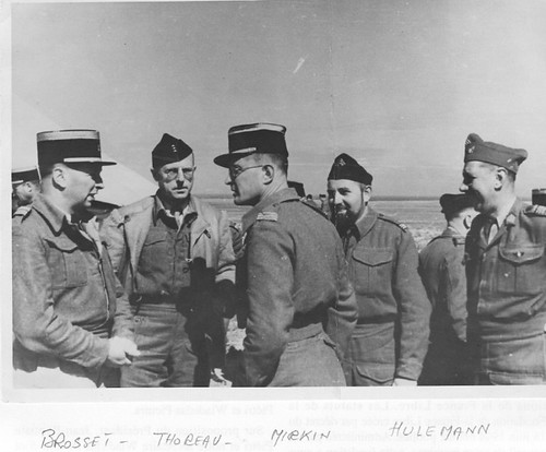 1942 - Brosset- Libye avec  Thoreau et  Mirkin