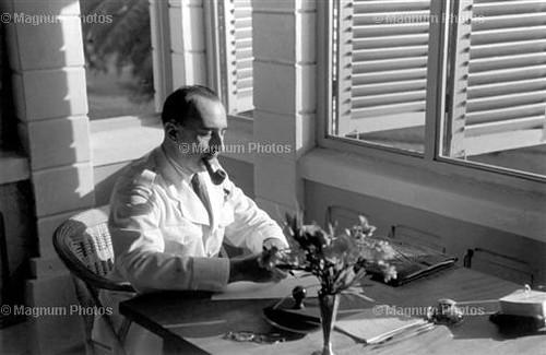 De Larminat-  1941 - Douala. General de LARMINAT of the Free French Forces. 1941