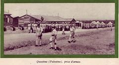 13 DBLE- 1941- Palestine- Camp de Qastina prise d'armes Légion