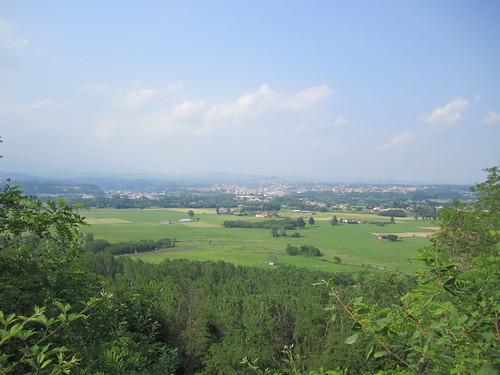 vista panoramica dalla Baraggia