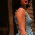 Bridgette Pechman in PICNIC at Writers Theatre. Photo by Janna Giacoppo.