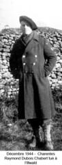 BM 4- Chambarand -1944 Decembre_Charentes_Raymond Dubois-Chabert tué a l'Illwald - Fonds Emile Gauthier