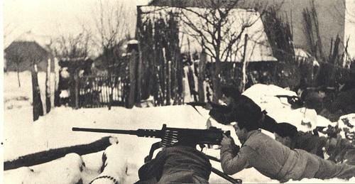 Alsace- Ebersmunster janvier 1945