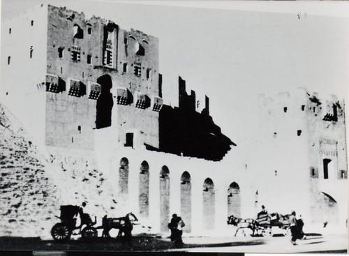BM 2-  Syrie - 1941 Août-  Citadelle d'Alep - PC de la  6e cie du BM 2  - Fonds Amiel
