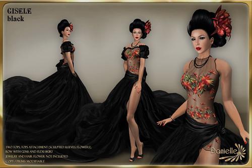 DANIELLE Gisele Black
