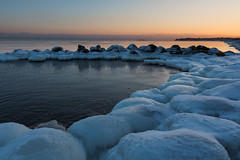 Frozen rocks photo by Jukka M.