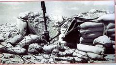 RA- 1942- Bir Hakeim   Tir ennemi abri endommagé