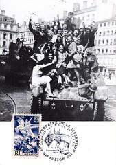 Philatélie- 1944 - Lyon - Libération - source : Jean Pflieger