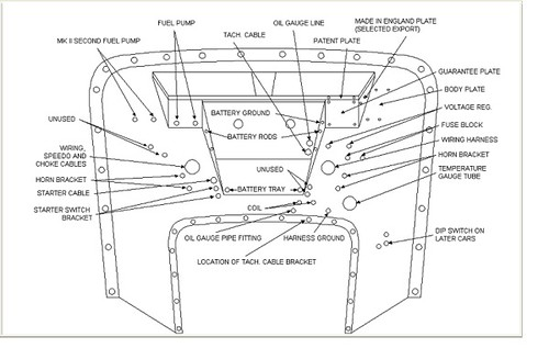 1954 mg tf wiring diagram
