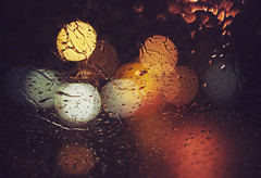 126 - Rainy Bokeh [Explored] photo by Victoria Boulanger