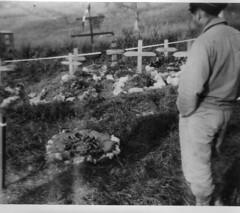 1944 - Italie- Tombes FFL légion - col Roumeguère