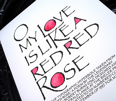 O My Love is Like a Red Red Rose