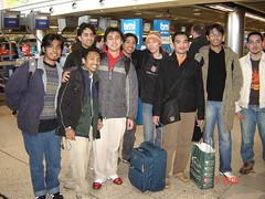 Bersama Sani & Anas (RCSI) kat Dublin Airport