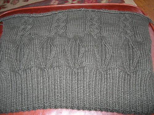 John's sweater - back