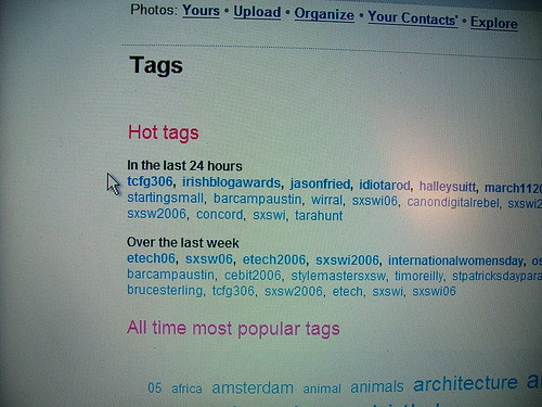 Irish Blog Awards, nearly the top tag of the last 24 hours