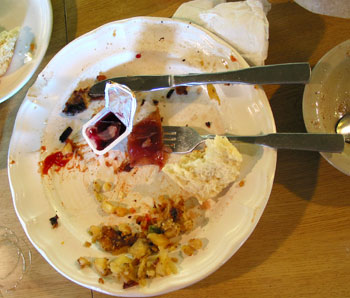 Diner Leavings