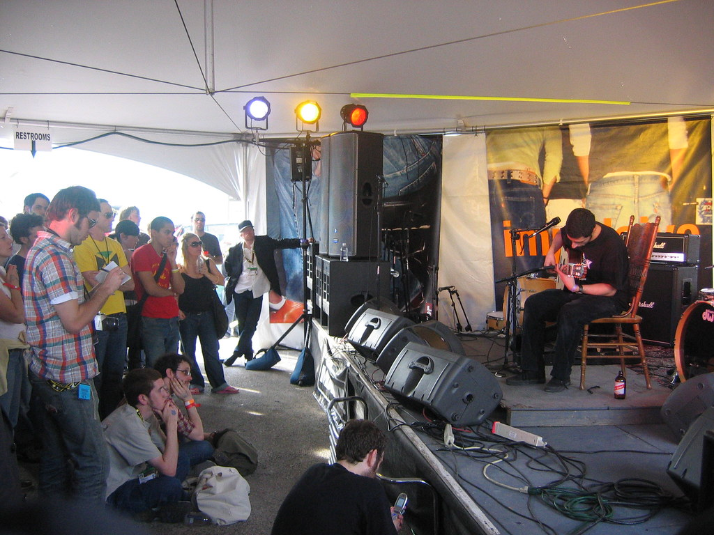 Jose Gonzalez @ Fader Tent (SXSW)