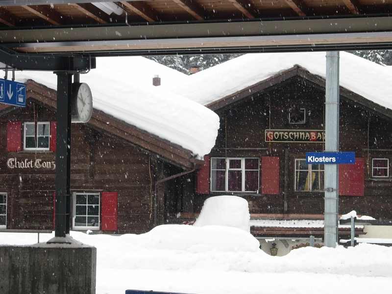 Klosters train station