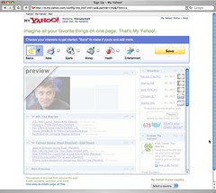 Yahoo Blank Slate