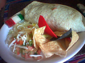 carmen's burrito