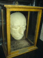 Life mask of Wordsworth