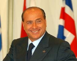 CZECH REPUBLIC NATO SUMMIT BERLUSCONI