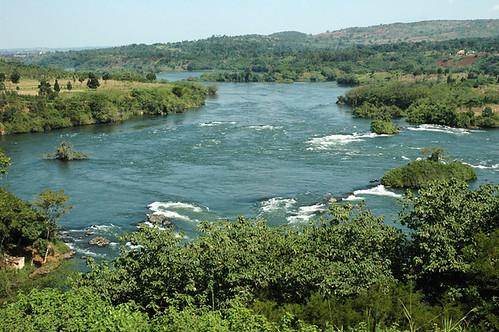 Jinja, overlook the source of Nile-