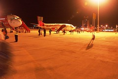 Air Asia Boarding at LCC Terminal