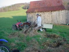 Gathering Fertilizer