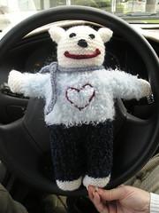 Happy Drivin Bear
