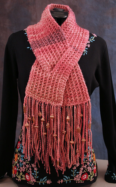 CROCHET KEYHOLE SCARF PATTERN - Crochet ? Learn How to Crochet