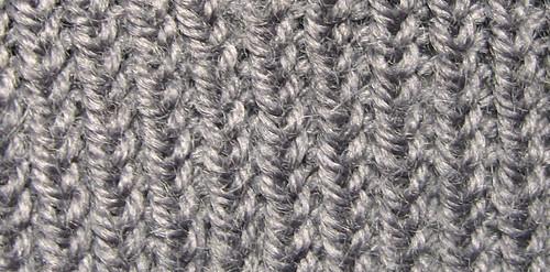 Comment tricoter la maille torse - Maille endroit maille envers ...