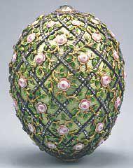 Rose Trellis Egg, 1907 (Fabergé)