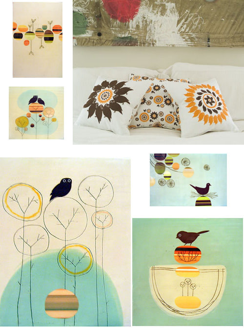 Amy Ruppel Art + Pillows
