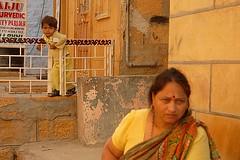 People in Jaisalmer 1, Jaisalmer, Rajasthan, India Captured April 14, 2006.