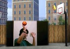 Jogue basquete com sua webcam