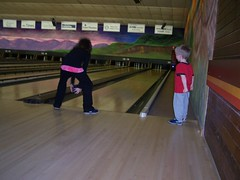 She bowls like her mother