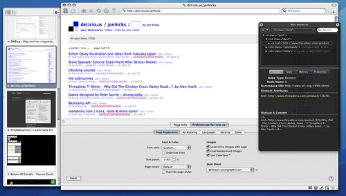 Screenshot of 5.5 on Flickr